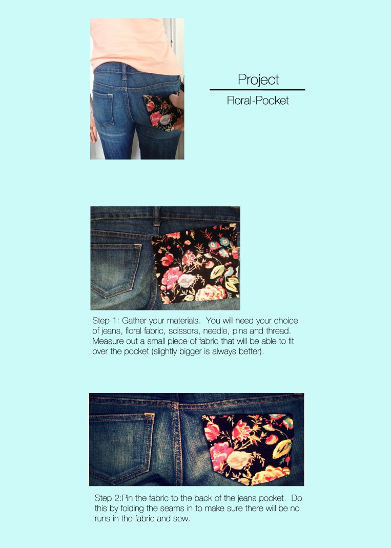 One big trend for the spring is florals.  How can you pull this off without spending a fortune on fashion? Here is your answer!