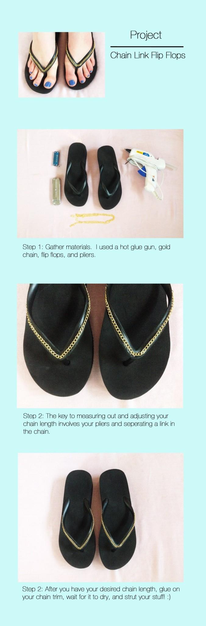 Chain Trim Sandals